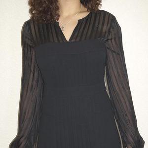 NWT BCBG Max Azria Crepe Chiffon Cocktail Dress